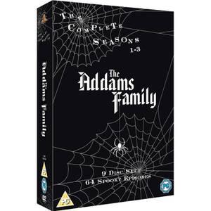 Addams Family Complete Seasons 1-3