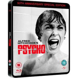 Psycho (1960): 50th Anniversary Limited Edition Steelbook