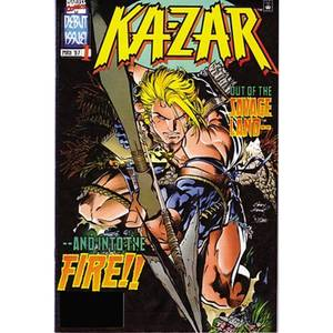 Marvel Ka-zar By Mark Waid & Andy Kubert Trade Paperback Vol 01