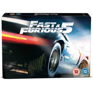 Fast and Furious 5 - Limited Steelbook Edition: Triple Play