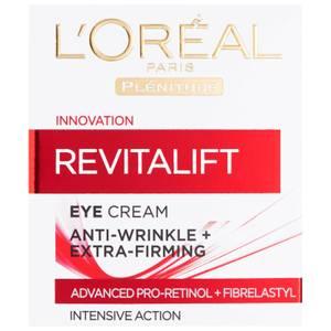 L'Oreal Paris Dermo Expertise Revitalift Anti-Rides + Crème Raffermissant pour les yeux (15ml)