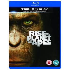 Rise of the Planet of the Apes - Triple Play (Blu-Ray, DVD and Digital Copy)