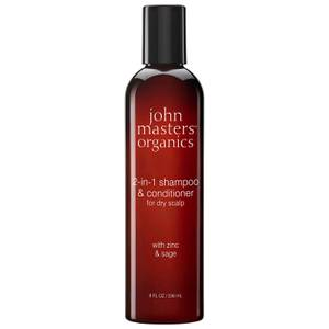 John Masters Organics 2-in-1 Shampoo & Conditioner with Zinc & Sage