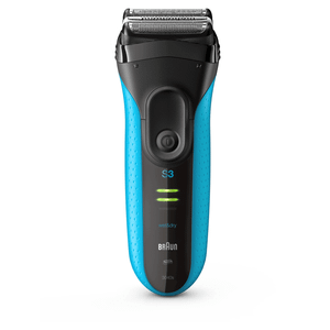 Braun Series 3 ProSkin 3040s Electric Shaver, Blue