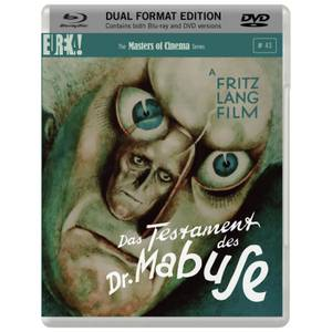 Das Testament des Dr. Mabuse - Dual Format Edition (Blu-Ray and DVD)