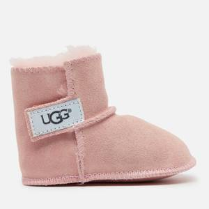 UGG Babies' Erin Logo Sheepskin Boots - Baby Pink