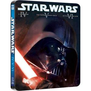 Star Wars Original Trilogy - Limited Edition Steelbook (UK EDITION)