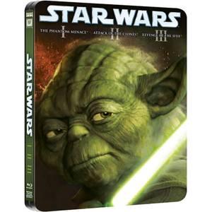 Star Wars Prequel Trilogy - Limited Edition Steelbook