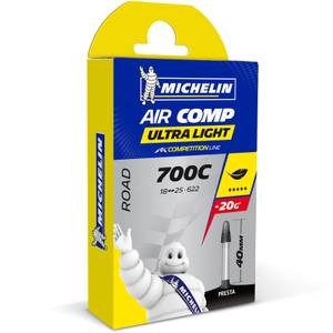 Michelin A1 Aircomp Ultralight ロード用インナーチューブ