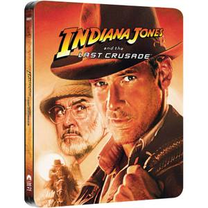 Indiana Jones and the Last Crusade - Zavvi UK Exclusive Limited Edition Steelbook