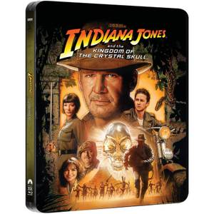 Indiana Jones and the Kingdom of the Crystal Skull - Zavvi Exclusive Limited Edition Steelbook