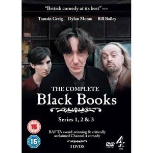 Black Books - Series 1-3