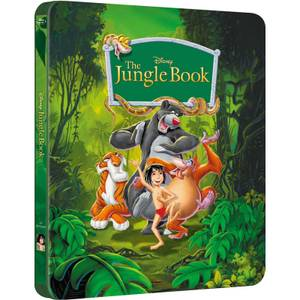 The Jungle Book - Zavvi Exclusive Limited Edition Steelbook (The Disney Collection #2)