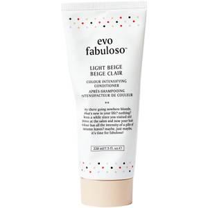 evo Fabuloso Colour Boosting Conditioner/Treatment - Light Beige 220ml