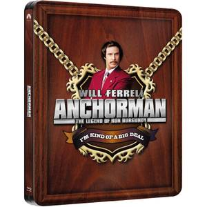 Anchorman: The Legend of Ron Burgundy - Zavvi UK Exclusive Limited Edition Steelbook