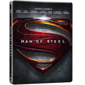 Man of Steel 3D - Limited Edition Steelbook (Includes 2D Version and UltraViolet Copy) (UK EDITION)