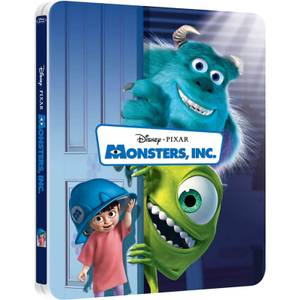 Monsters, Inc. 3D - Zavvi Exclusive Limited Edition Steelbook (Includes 2D Version) (The Pixar Collection #6)