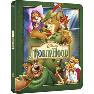 Robin Hood - Zavvi UK Exclusive Limited Edition Steelbook (The Disney Collection #16)