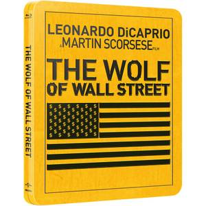 The Wolf of Wall Street - Limited Edition Steelbook (Includes UltraViolet Copy) (UK EDITION)