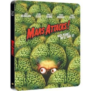 Mars Attacks! - Zavvi UK Exclusive Limited Edition Steelbook