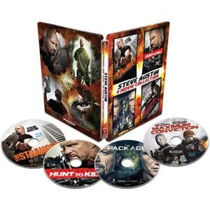 Steve Austin 4-Pack - Import - Limited Edition Steelbook (Region 1)