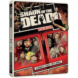 Shaun of The Dead - Import - Limited Edition Steelbook (Region Free)