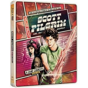 Scott Pilgrim Vs. The World - Import - Limited Edition Steelbook (Region Free)