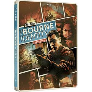 The Bourne Identity - Import - Limited Edition Steelbook (Region Free)