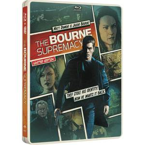 The Bourne Supremacy - Import - Limited Edition Steelbook (Region Free)