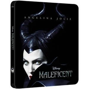 Maleficent 3D - Steelbook Exclusivo de Zavvi (Edición Limitada) (Incluye Versión 2D)