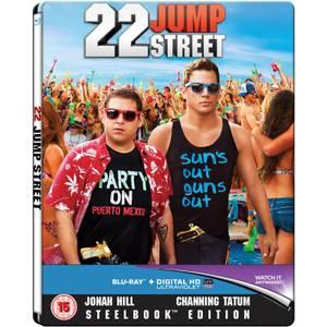22 Jump Street - Zavvi Exclusive Limited Edition Steelbook