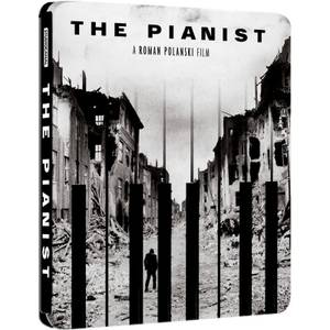 The Pianist - Zavvi UK Exclusive Limited Edition Steelbook (Ultra Limited Print Run)