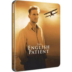 The English Patient - Zavvi UK Exclusive Limited Edition Steelbook (Ultra Limited Print Run)
