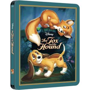 The Fox and The Hound - Zavvi Exclusive Limited Edition Steelbook (The Disney Collection #24)