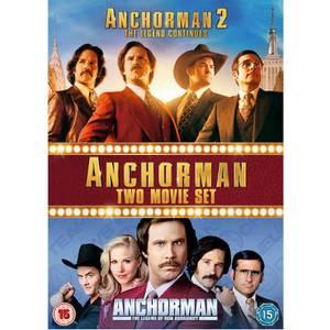 Anchorman 1 & 2