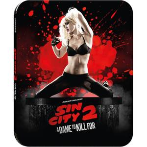 Sin City 2: A Dame To Kill For 3D - Zavvi UK Exclusive Limited Edition Steelbook