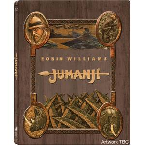 Jumanji Zavvi UK Exclusive Steelbook – Ultra Limited