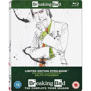 Breaking Bad: Season 3 - Zavvi Exclusive Limited Edition Steelbook