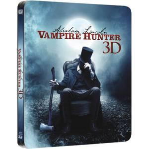 Abraham Lincoln Vampire Hunter 3D (Includes 2D Version) - Zavvi UK Exclusive Limited Edition Steelbook
