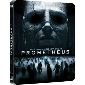 Prometheus 3D (Includes 2D Version and Extra Blu-Ray Bonus Material) - Zavvi UK Exclusive Limited Edition Steelbook