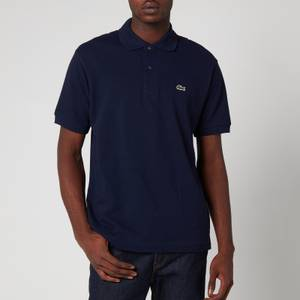 Lacoste Men's Classic Fit Pique Polo Shirt - Navy Blue