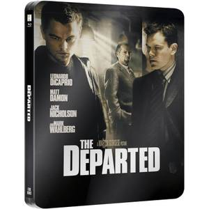 The Departed- Zavvi UK Exclusive Limited Edition Steelbook (Ultra Limited Print Run)