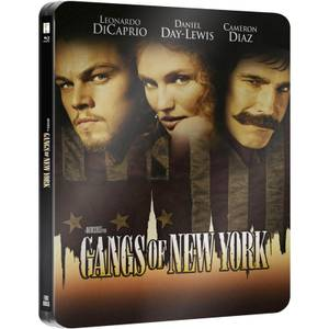 Gangs of New York- Zavvi Exclusive Limited Edition Steelbook (Ultra Limited Print Run)