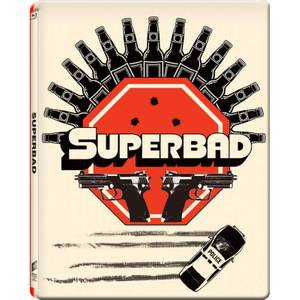 Superbad  - Gallery 1988 Range - Zavvi UK Exclusive Limited Edition Steelbook (2000 Only)