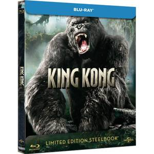 King Kong (2005) - Zavvi exklusives Limited Edition Steelbook