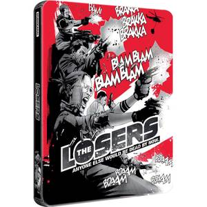 The Losers - Zavvi UK Exclusive Limited Edition Steelbook (2000 Only)