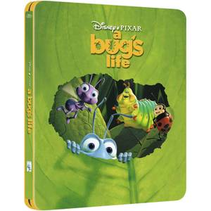 A Bug's Life - Zavvi UK Exclusive Limited Edition Steelbook (The Pixar Collection #11) (3000 Only)