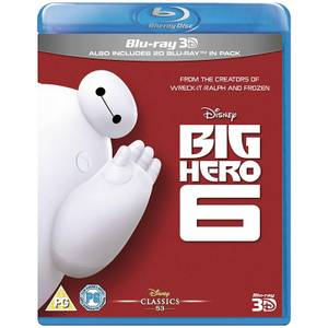 Big Hero 6 3D (Includes 2D Version)