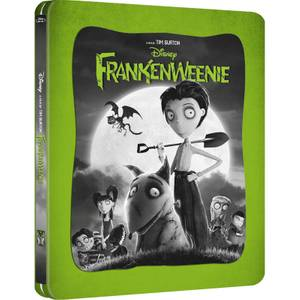 Frankenweenie 3D (+ Version 2D) - Steelbook Exclusif Limité pour Zavvi