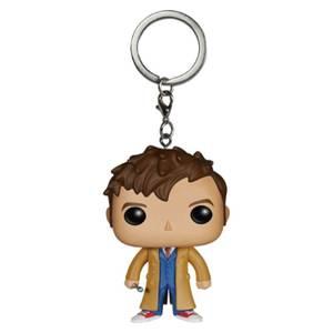 Doctor Who 10th Doctor Pocket Funko Pop! Vinyl Key Chain